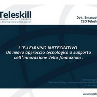 E-learning partecipativo. SIREF Summer School 2014